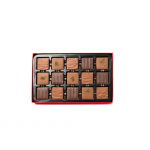 30 pc Assorted Mini Tablets Chocolate Red Gift Box
