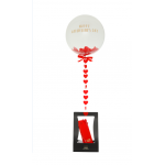 Valentine's Day Confetti Balloon Chocolate Gift Set
